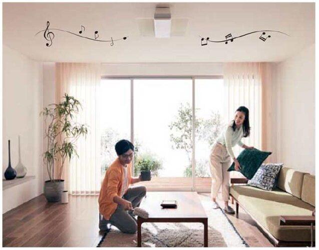 2019年 リビングをカフェのように !パナソニックのスピーカー搭載LEDシーリングライトの新商品発売