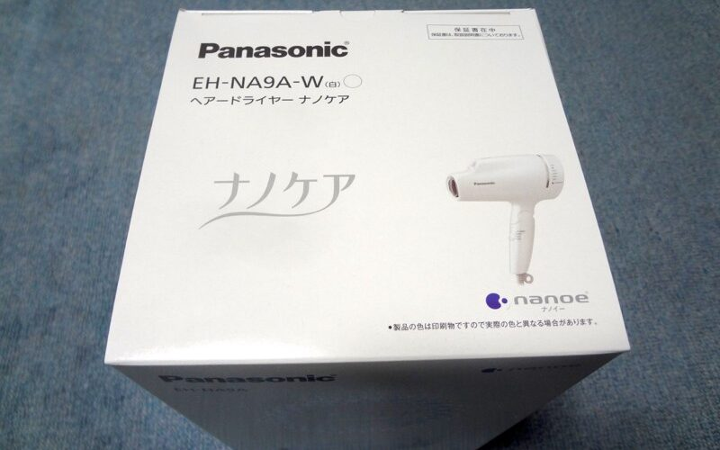 パナソニックのヘアードライヤーの最新ナノケア EH-NA9Aは、こんなに進化していた